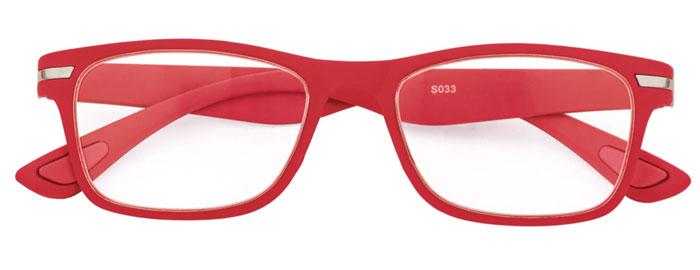 Industrie Ottiche Italiane Srl Prontoleggo Rubber Occhiale Rosso Diotria +1 ZKGzg5Z4